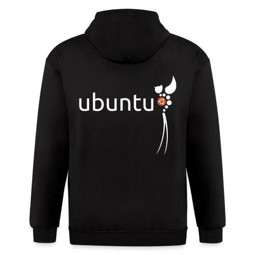 Ubuntu 12.10 Quantal Quetzal - Men's Zip Hoodie