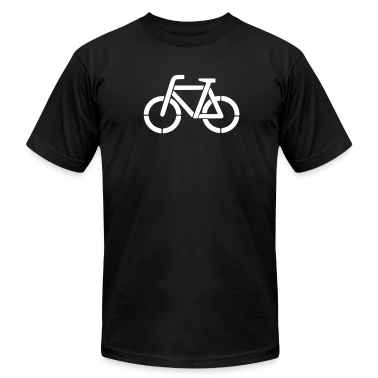 bicycle stencil T-Shirts