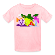 Kids' Shirts ~ Kids' T-Shirt ~ Animals and Banana