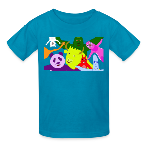 Animals and Banana - Kids' T-Shirt