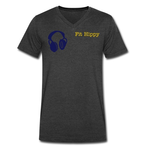 Fit Hippy Tee - Men's V-Neck T-Shirt by Canvas