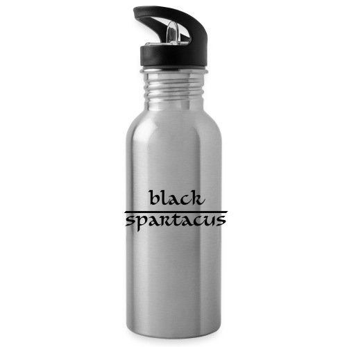 Water bottles are boring. But not a Black Sparacus bottle! - Water Bottle