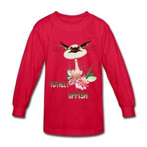 Totally Uppish - Kids' Long Sleeve T-Shirt