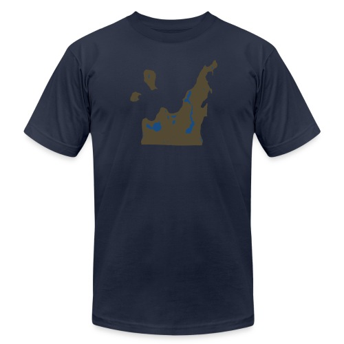 Leelanau County - Men's Fine Jersey T-Shirt