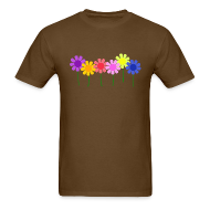 T-Shirts ~ Men's T-Shirt ~ Flowers
