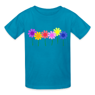 Kids' Shirts ~ Kids' T-Shirt ~ Flowers