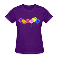 Women's T-Shirts ~ Women's T-Shirt ~ Flowers