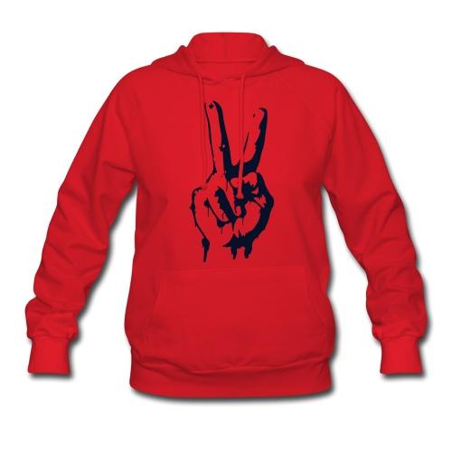 Red Peace - Women's Hoodie