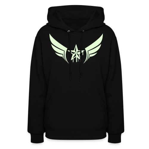 Glow in the Dark Nautical Star - Women's Hoodie