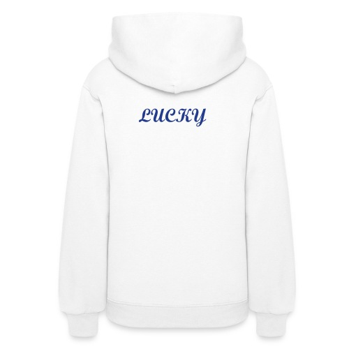 Lucky back/Clover front - Women's Hoodie