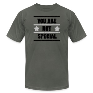 You Are Not Special - Men's T-Shirt by American Apparel