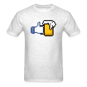 FACEBOOK MUG - Men's T-Shirt