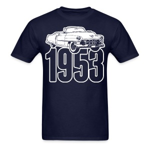 1953 Cadillac Series 62 convertible illustration - Men's T-Shirt