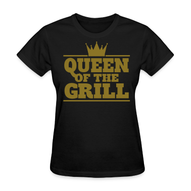 Queen of the Grill - Gold foil edition