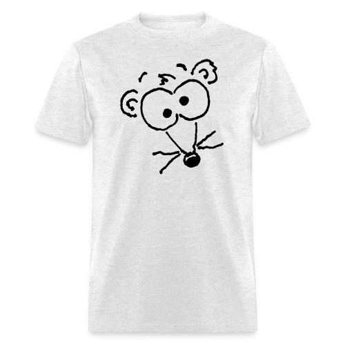 Weasel Head (Black Print) T-Shirt - Men's T-Shirt