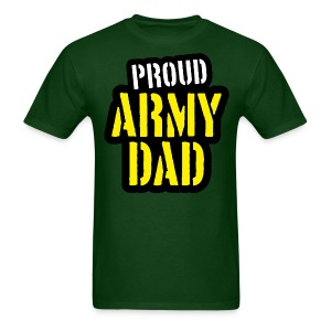Proud Army Dad - Men's T-Shirt