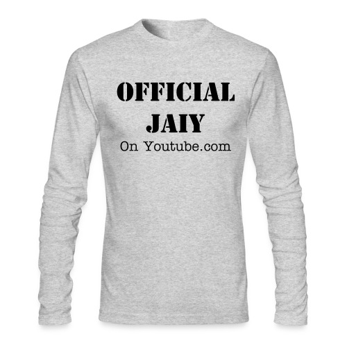 Mens long sleeve with text - Men's Long Sleeve T-Shirt by Next Level