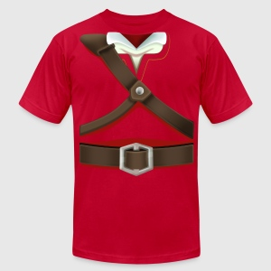 Link Red Tunic (Skyward Sword) - Front Only T-Shirts - Men's T-Shirt by American Apparel