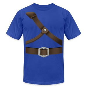 Link Generic Tunic (Skyward Sword) - Front Only T-Shirts - Men's T-Shirt by American Apparel