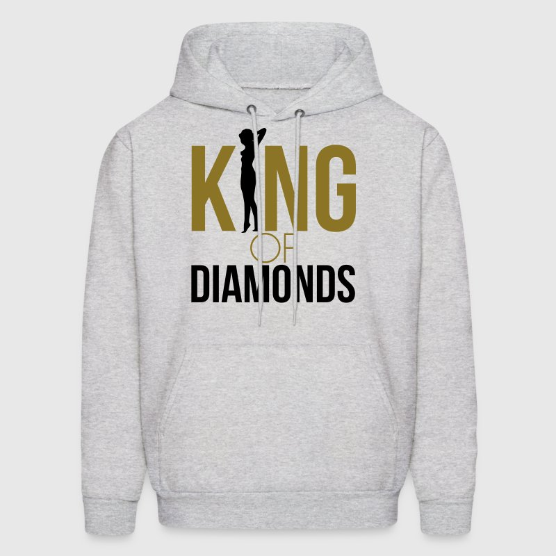 KING OF DIAMONDS Hoodies - Men's Hoodie