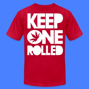 Keep One Rolled T-Shirts - stayflyclothing.com - Men's T-Shirt by American Apparel