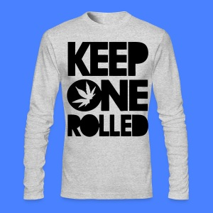 Keep One Rolled Long Sleeve Shirts - stayflyclothing.com - Men's Long Sleeve T-Shirt by Next Level