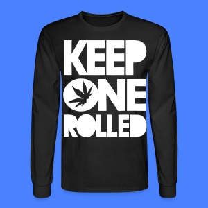 Keep One Rolled Long Sleeve Shirts - stayflyclothing.com - Men's Long Sleeve T-Shirt