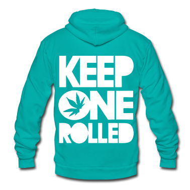 Keep One Rolled Zip Hoodies/Jackets - stayflyclothing.com