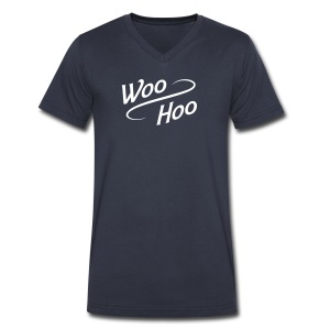 Woo Hoo  - Men's V-Neck T-Shirt by Canvas
