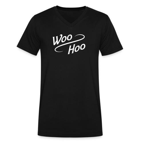 Woo Hoo  - Men's V-Neck T-Shirt by Canvas
