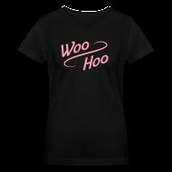 Women's T-Shirts ~ Women's V-Neck T-Shirt ~ V-neck Woo Hoo
