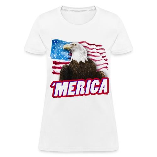 'Merica T-Shirt | Women's - Women's T-Shirt