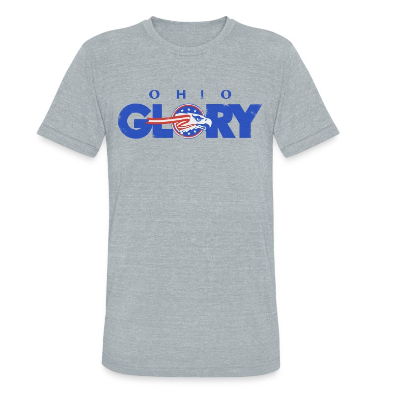 VINTAGE OHIO GLORY LOGO TEE - Unisex Tri-Blend T-Shirt by American Apparel