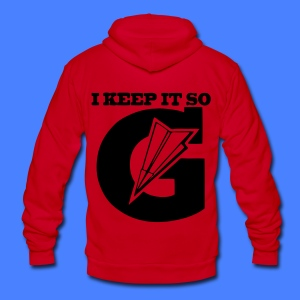 I Keep It So G Zip Hoodies/Jackets - stayflyclothing.com - Unisex Fleece Zip Hoodie by American Apparel