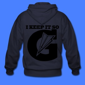 I Keep It So G Zip Hoodies/Jackets - stayflyclothing.com - Men's Zip Hoodie