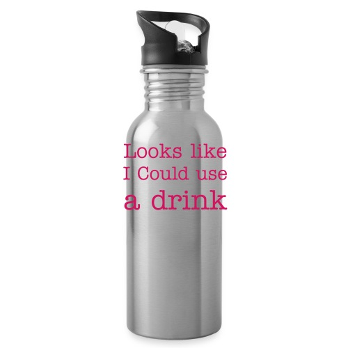 looks like i could use a drink - Water Bottle