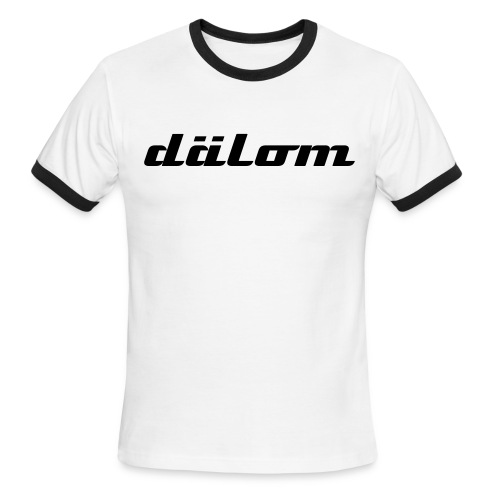 Dälom Men's Ringer T American Apparel - Men's Ringer T-Shirt