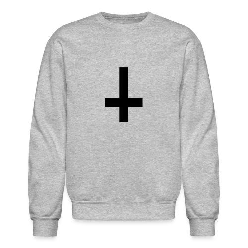 Upside down cross sweater - Crewneck Sweatshirt