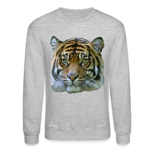 Tiger Head - Crewneck Sweatshirt
