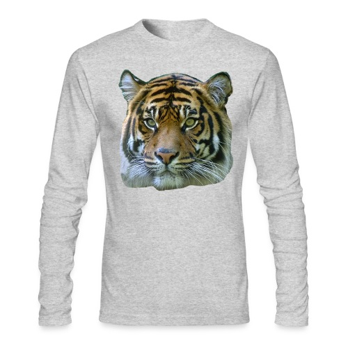 Tiger Head - Men's Long Sleeve T-Shirt by Next Level