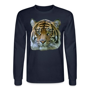 Tiger Head - Men's Long Sleeve T-Shirt