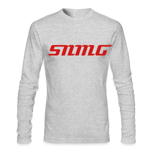 Grey SNMG Long Sleeve T-Shirt - Men's Long Sleeve T-Shirt by Next Level