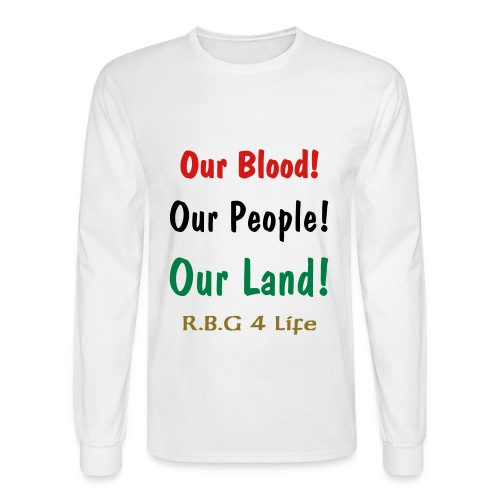 R.B.G. 4 LIFE Long sleeve - Men's Long Sleeve T-Shirt