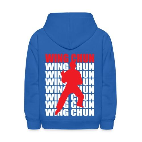 Wing Chun - Kids' Hoodie
