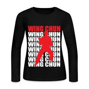 Wing Chun - Women's Long Sleeve Jersey T-Shirt