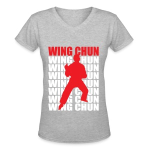 Wing Chun - Women's V-Neck T-Shirt