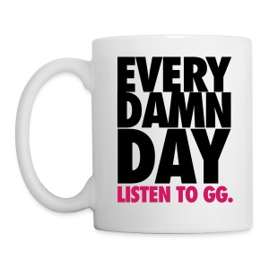 [SNSD] Every Damn Day Listen to GG - Coffee/Tea Mug
