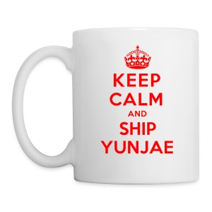 [DBSK] KC & Ship Yunjae - Coffee/Tea Mug