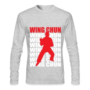 Wing Chun - Men's Long Sleeve T-Shirt by Next Level