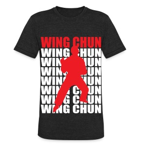 Wing Chun - Unisex Tri-Blend T-Shirt by American Apparel